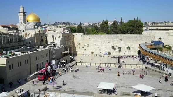 Thumbnail for Western Wall & Square, Jerusalem Israel
