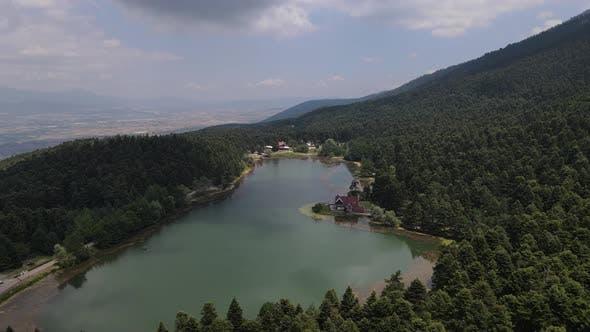 Thumbnail for Lake Between Mountains