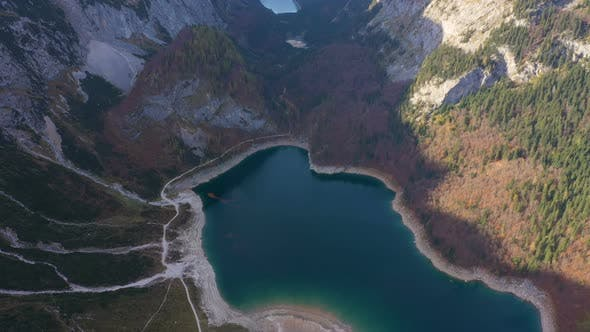 Aerial View Of Gosausee Lake 2