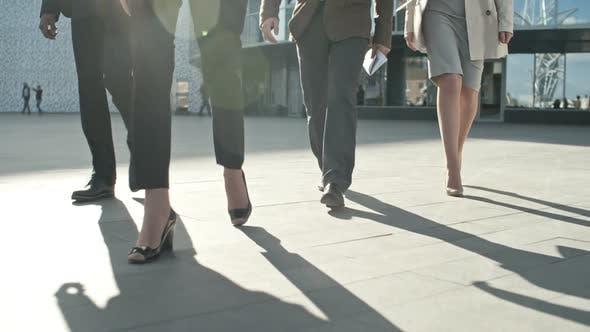 Thumbnail for Business Team Walking