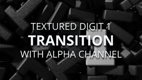 Digit 1 transition