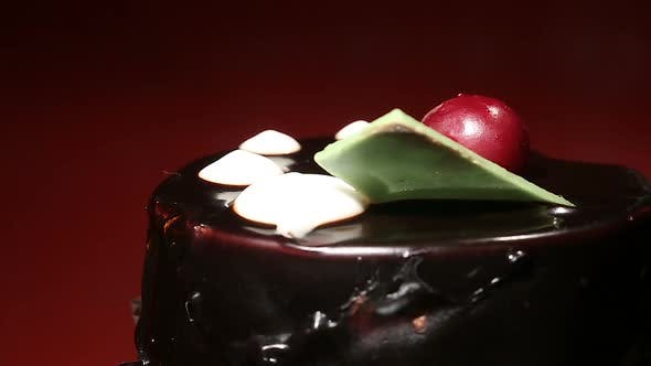 Thumbnail for Chocolate Dessert at Confectionery Shop, Tempting Sweet Food, Risk of Diabetes