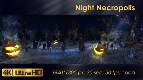 Nacht Nekropole