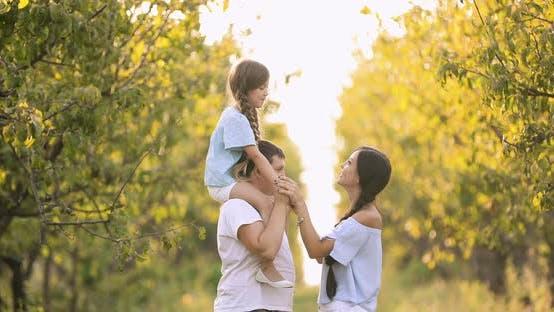 Family Walks in the Garden