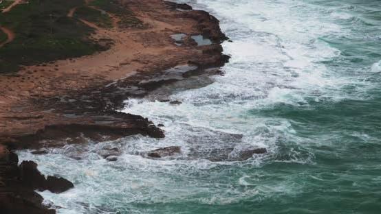 Thumbnail for Coastline Landscape at Rosh Hanikra