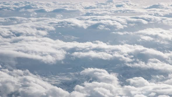 Thumbnail for Airplane Flying Above Clouds