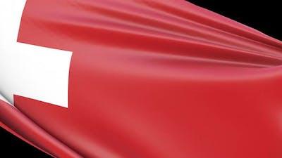 Switzerland Flag Transition