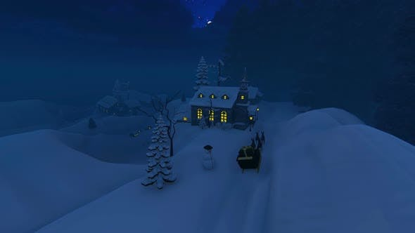 Thumbnail for The Snow At Christmas And Fog 2 K