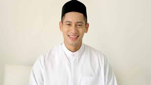 Thumbnail for Portrait of an Asian Muslim Man