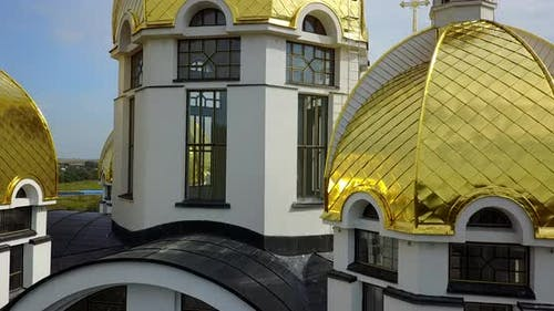 Zarvanytsia Spiritual Center of the Greek Catholic Church in Ternopil Region Ukraine