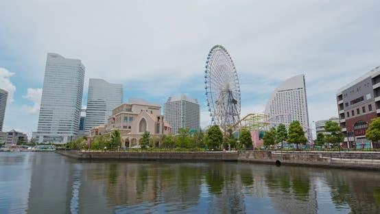 Thumbnail for Yokohama city harbor