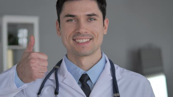 Thumbnail for Thumbs Up By Young Doctor