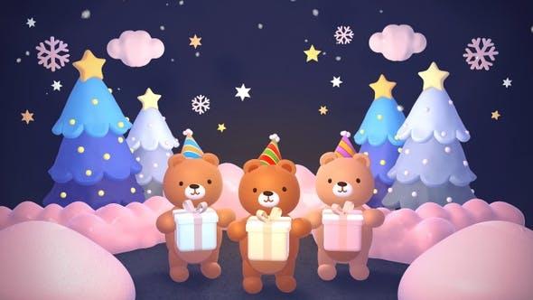 Thumbnail for Weihnachtsbären II