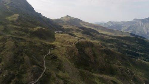 View of Mannlichen Mountain Switzerland