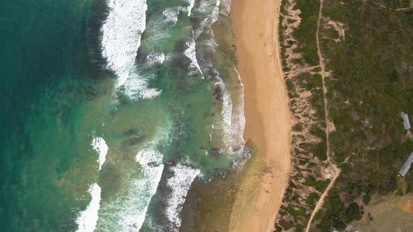 Thumbnail for Drone View of Beach Coast