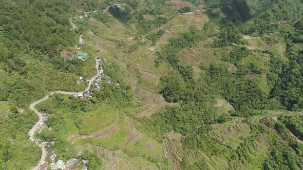 Thumbnail for Rice Terraces in the Mountains. Philippines, Batad, Banaue