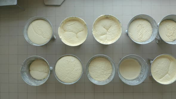 Thumbnail for Closeup Video of Yeast Dough in Production.