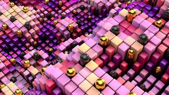 Thumbnail for Quirky Cubes Motion 2