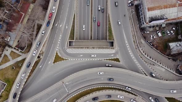 Highway Traffic Aerial