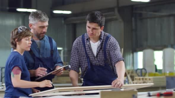 Cover Image for Joiners Working in Joinery