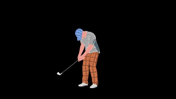 Thumbnail for 2D Golf Player Short Shot