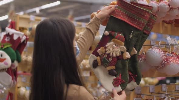 Shopaholic Looks and Takes Handmade Christmas Sock