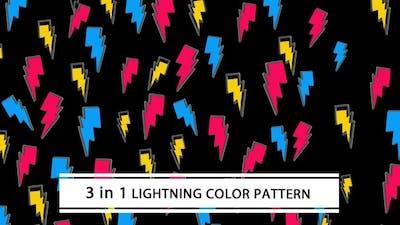 Lightning Color Pattern