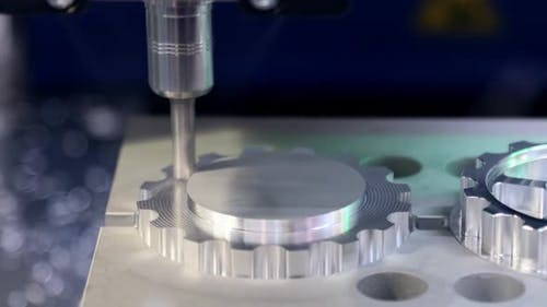 Processing of a Part on a Vertical Milling Machining Center