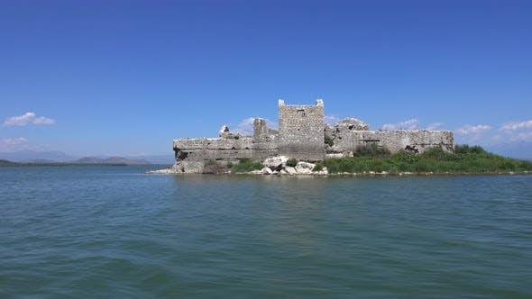 Thumbnail for Ruins of Old Turkish Grmozur Fortress, Lake Skadar