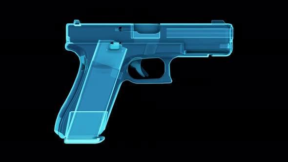 Glock 17 Gen 5 Pistol 4k