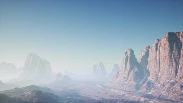 Thumbnail for Rocky Desert Landscape