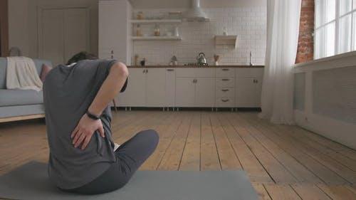 Young Woman Having Terrible Backache