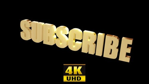 Subscribe Gold 4K