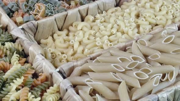 Fresh Vegetarian Italian Raw Food Macaroni Pasta 50