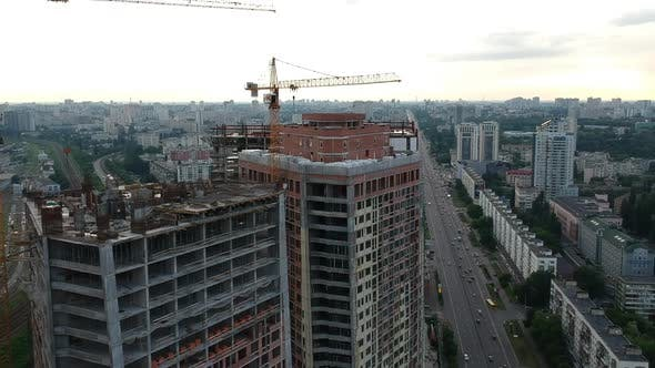 Construction of The House and The Highway