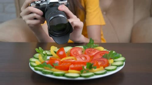 Take Pictures of the Salad