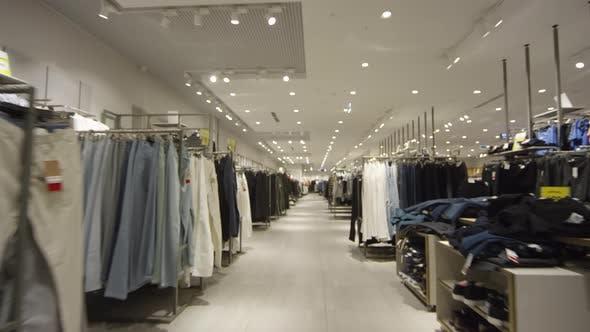 Empty Clothing Store