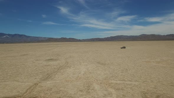 Cover Image for Car on the Desert