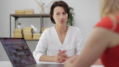 Interior Designer Consulting Woman
