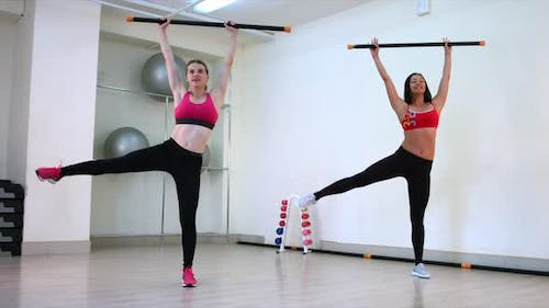 Two Girls Play Sports With Bodibar