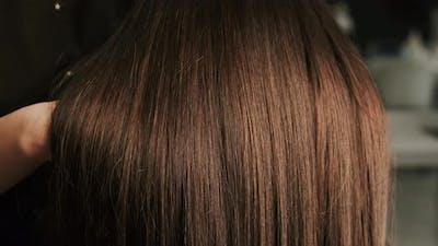 Hair Care In Fashion Studio. Wonderful Hair Style.