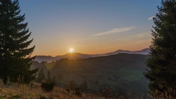 Thumbnail for Dawn Over The Carpathian Mountains