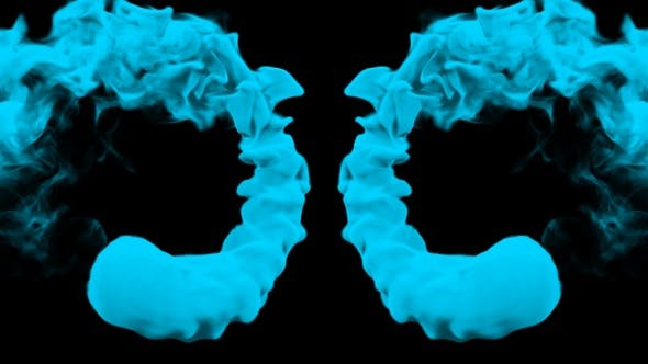 Thumbnail for Blue Color Rotating Smoke