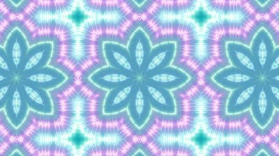 Fluorescent Color Kaleidoscope 02