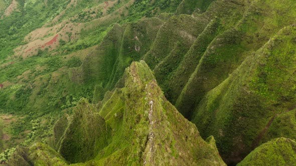 Thumbnail for Na Pali Coast State Park. Hawaii. USA. Impressively Shaped Natural Formations of Tropical Island