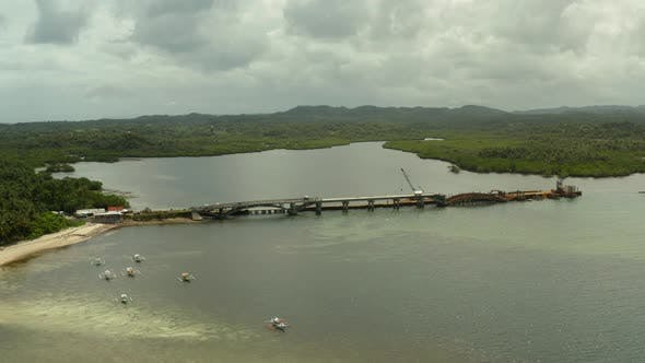 Thumbnail for Bridge Under Construction on the Island of Siargao