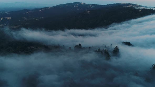 Thumbnail for Low Fog Rolling on The Hills