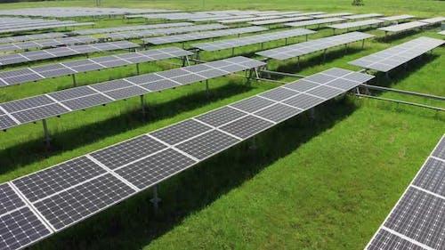 Solar Panels Big Solar Farm