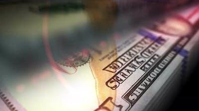 Dollar money counting seamless loop