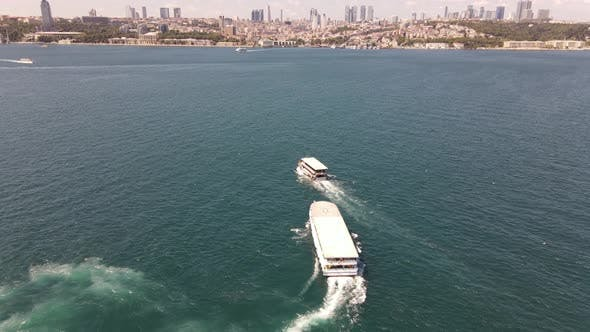 Sea Traffic Istanbul